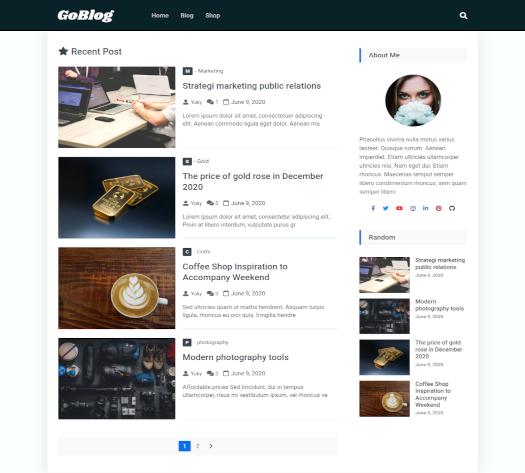 theme produk goblog pro